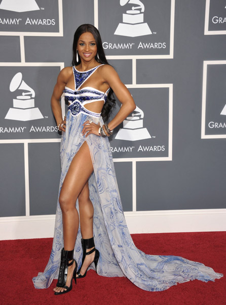 Celebs Strut Down The Red Carpet: 53rd Annual GRAMMY ...